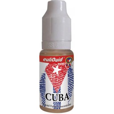Příchuť EULIQUID Cuba Tabák 10 ml