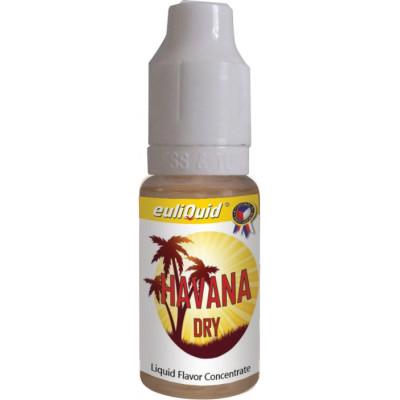 Příchuť EULIQUID Havana Dry Tabák 10 ml