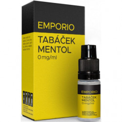 Liquid EMPORIO Tobacco-Menthol 10 ml - 00 mg