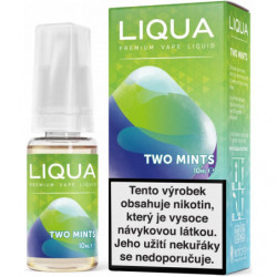 Liquid LIQUA CZ Elements Two Mints 10ml-18mg (Chuť máty a mentolu)