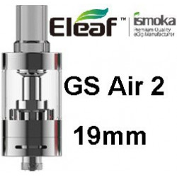 Eleaf GS AIR 2 19 mm clearomizer Silver 2,5 ml