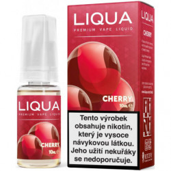 Liquid LIQUA CZ Elements Cherry 10ml-3mg (třešeň)