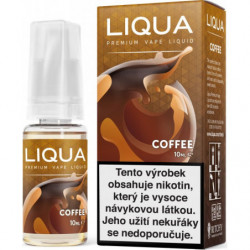 Liquid LIQUA CZ Elements Coffee 10ml-3mg (Káva)