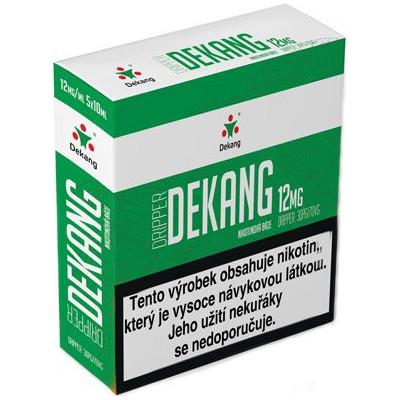 Nikotinová báze Dekang Dripper 5x10 ml PG 30:VG 70 - 12 mg