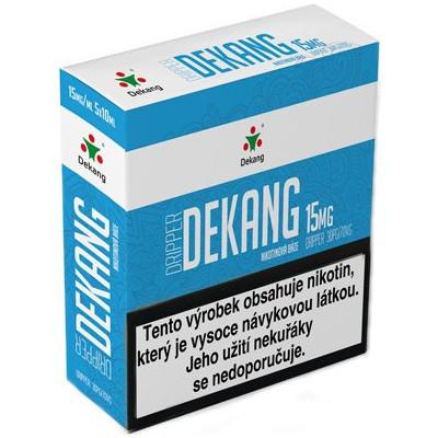 Nikotinová báze Dekang Dripper 5x10 ml PG 30:VG 70 - 15 mg