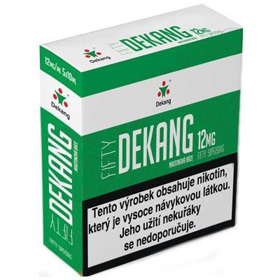 Nikotinová báze Dekang Fifty 5x10 ml PG 50:VG 50 - 12 mg