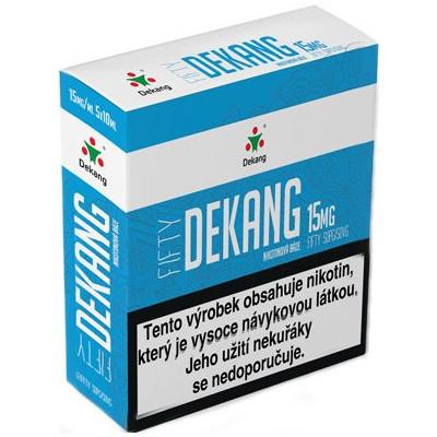 Nikotinová báze Dekang Fifty 5x10 ml PG 50:VG 50 - 15 mg