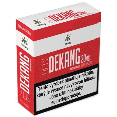 Nikotinová báze Dekang Fifty 5x10 ml PG 50:VG 50 - 20 mg