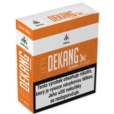 Nikotinová báze Dekang Fifty 5x10 ml PG 50:VG 50 - 03 mg