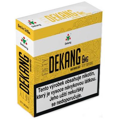 Nikotinová báze Dekang Fifty 5x10 ml PG 50:VG 50 - 06 mg