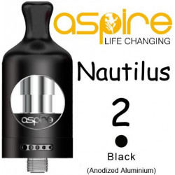 aSpire Nautilus 2 Clearomizer 2 ml Black
