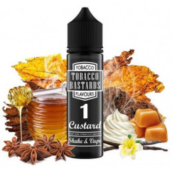 Příchuť Flavormonks Tobacco Bastards Shake and Vape 12 ml No.01 Custard