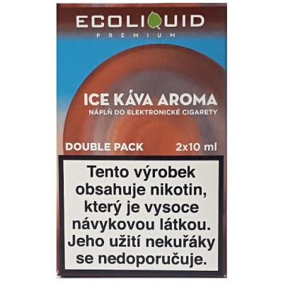 Liquid Ecoliquid Premium 2Pack Ice Coffee 2x10 ml - 00 mg
