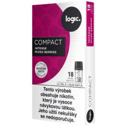 JTI Logic Compact cartridge Intense Mixed Berries 18 mg