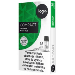 JTI Logic Compact cartridge Intense Menthol 18 mg