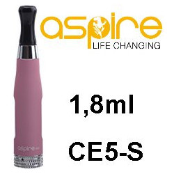 aSpire CE5-S Clearomizer 1,8ohm 1,8 ml Pink