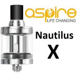 aSpire Nautilus X clearomizer 2 ml Silver
