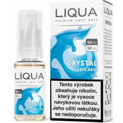 LIQUA CZ Crystal Vape Base 10 ml-18 mg