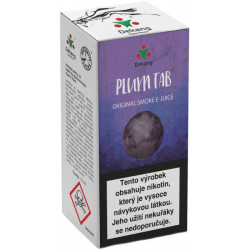 Liquid Dekang Plum TAB 10 ml - 11 mg  (Sušená švestka)