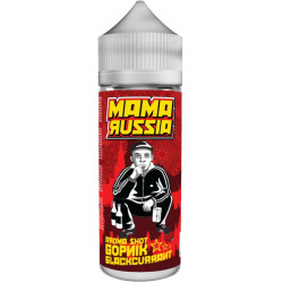 Příchuť Mama Russia Shake and Vape 15 ml Gopnik Blackcurrant