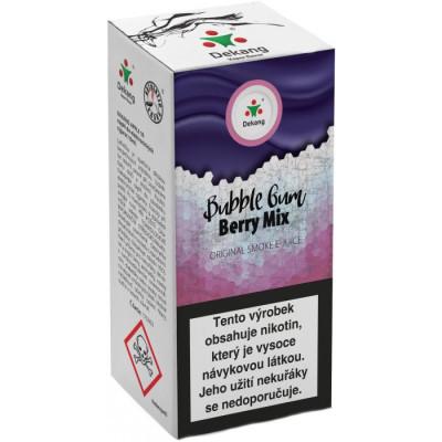 Liquid Dekang Bubble Gum Berry Mix 10 ml - 11 mg (Žvýkačka lesní plody)