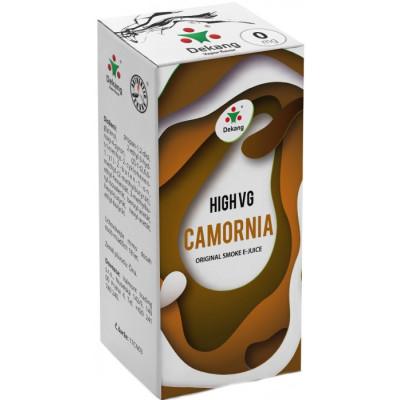 Liquid Dekang High VG Camornia 10 ml - 0 mg