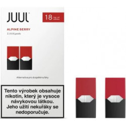 JUUL cartridge Alpine Berry 18 mg 2pack