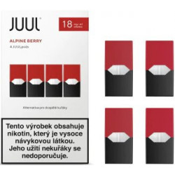 JUUL cartridge Alpine Berry 18 mg 4pack