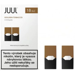 JUUL cartridge Golden Tobacco 18 mg 2pack