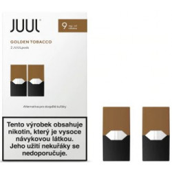 JUUL cartridge Golden Tobacco 9 mg 2pack