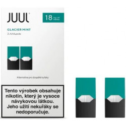 JUUL cartridge Glacier Mint 18 mg 2pack