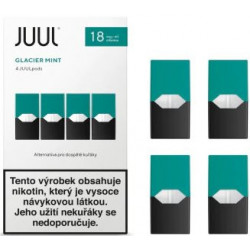 JUUL cartridge Glacier Mint 18 mg 4pack