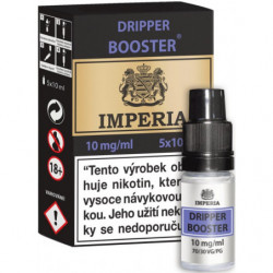 Dripper Booster CZ IMPERIA 5x10 ml PG30-VG70 10 mg