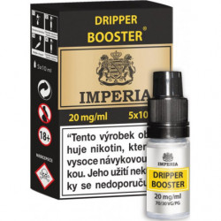 Dripper Booster CZ IMPERIA 5x10 ml PG30-VG70 20 mg