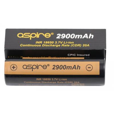 aSpire baterie typ 18650 2900 mAh 20A
