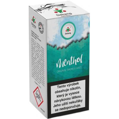Liquid Dekang Menthol 10 ml - 06 mg