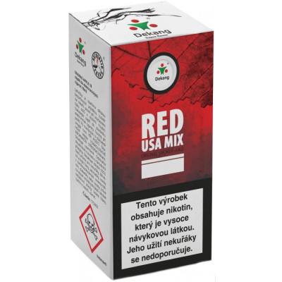 Liquid Dekang Red USA MIX 10 ml - 11 mg
