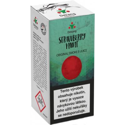 Liquid Dekang Strawberry mint 10 ml - 18 mg