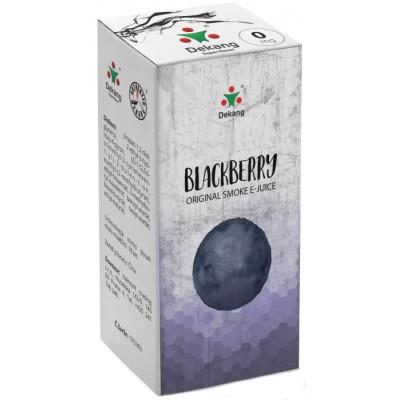 Liquid Dekang Blackberry 10 ml - 0 mg