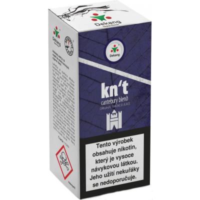 Liquid Dekang Kn´t - cantebury blend 10 ml - 11 mg