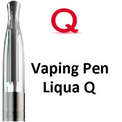 Liqua Q Vaping Pen clearomizer 1,8 ohm 2,0 ml Black