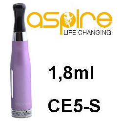 aSpire CE5-S Clearomizer 1,8ohm 1,8 ml Purple