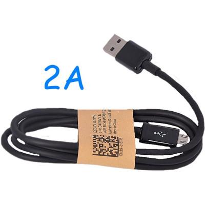 Univerzální USB-MICRO USB kabel 2A Black (2000 mA)