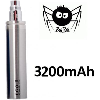BuiBui GS eGo III baterie 3200 mAh Silver