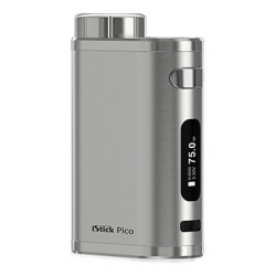Eleaf iStick Pico TC 75W easy Grip Brushed Silver