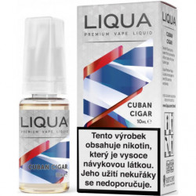 Liquid LIQUA CZ Elements Cuban Tobacco 10 ml-3 mg