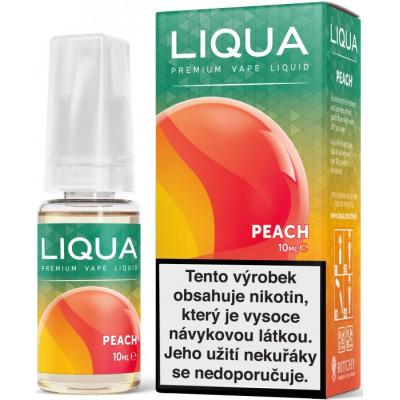 Liquid LIQUA CZ Elements Peach 10 ml-12 mg