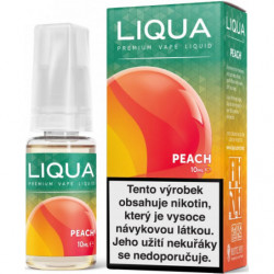 Liquid LIQUA CZ Elements Peach 10 ml-18 mg
