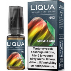 Liquid LIQUA CZ MIX Shisha Mix 10 ml-18 mg