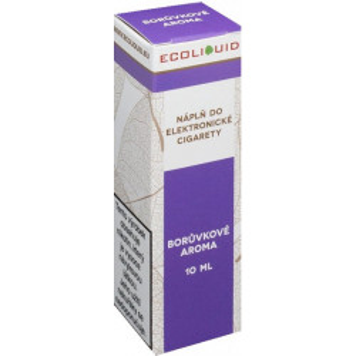 Liquid Ecoliquid Blueberry 10 ml - 00 mg